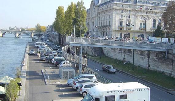 Orla do Sena em Paris antes.
